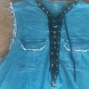 Dresses - Custom denim dress